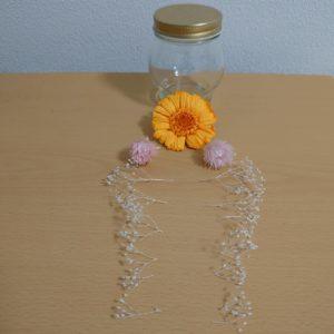 ガーベラハーバリウム花材